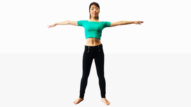 筋肉をほぐして柔らかく女性らしさをキープするボディの作り方②