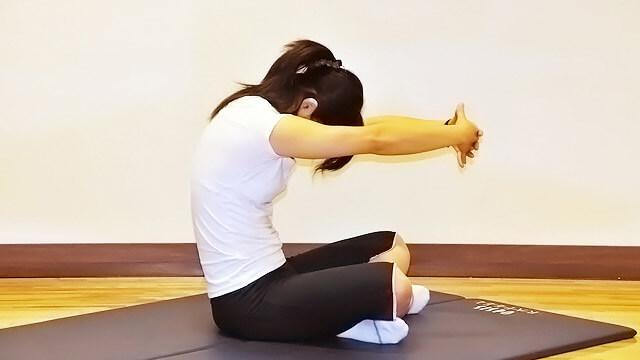 本気女子だけが挑戦!女子的肉体改造「上肢ストレッチ」