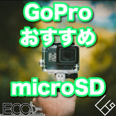 GoProにオススメのmicroSDカード4選|ゴープロ初心者でも安心!