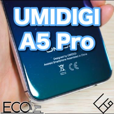 UMIDIGI A5 Proの評価/スペック/レビューまとめ