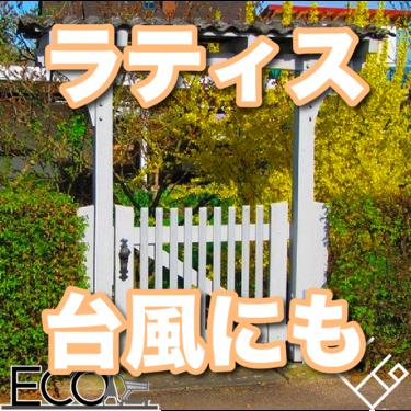 ラティスおすすめ人気ランキング17選【台風/おしゃれ】