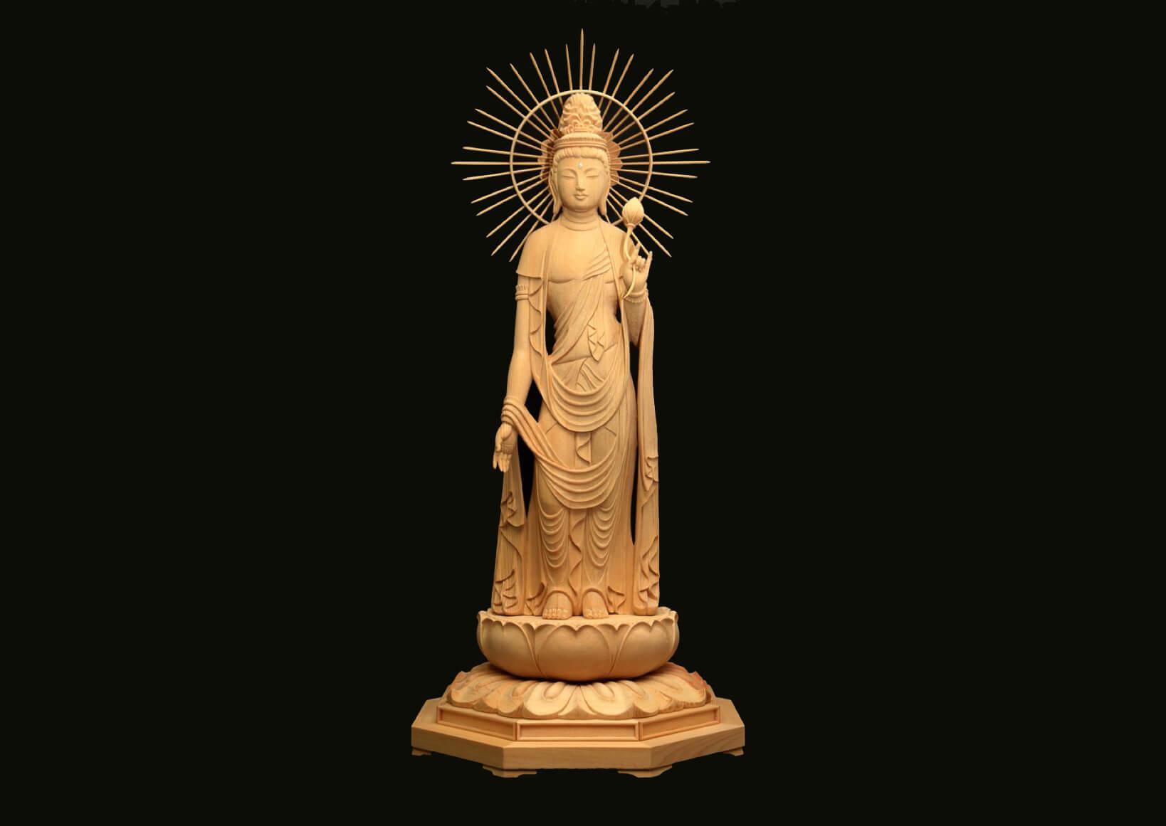 祈りを形に 42歳でようやく見つけた「仏像彫刻師」という仕事