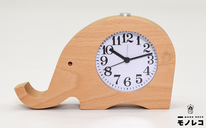 GLODEALS 置き時計(長鼻象)