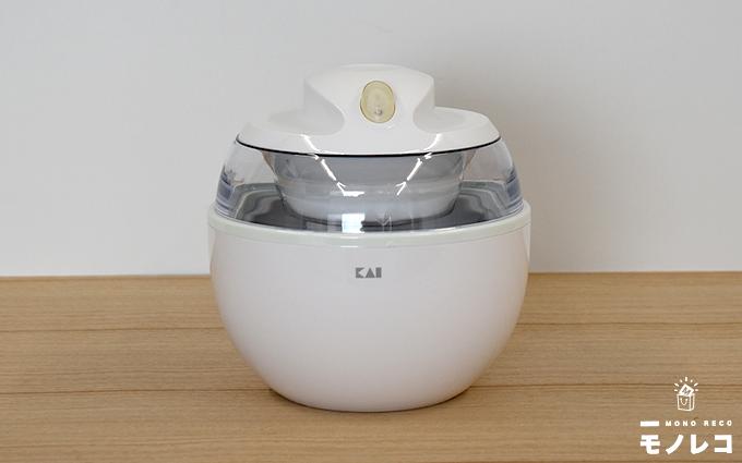 貝印アイスクリームメーカー ホワイト DL-5929