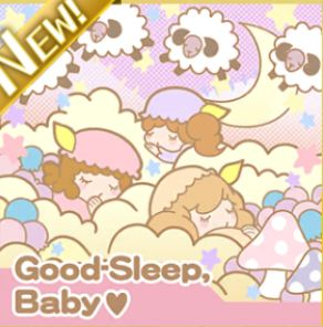 Good-Sleep, Baby♡ジャケ