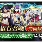 クリスマス2018ピックアップ召喚(日替り)