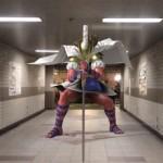 【画像あり】某市地下通路、アレスさん登場でダンジョンっぽくなるwwwwwww