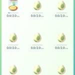50個中の10km卵孵化確立がこれ!!※情報提供