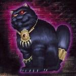 不幸を告げる黒猫