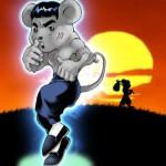 格闘ネズミ チュー助