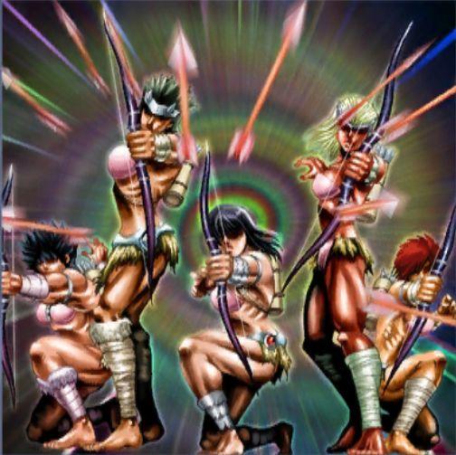 アマゾネスの弩弓隊