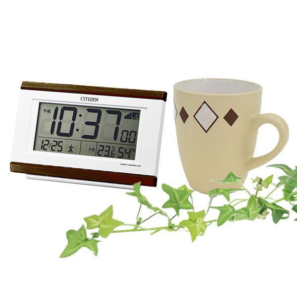 シチズン 電波めざまし時計 パルデジットキング 8RZ161