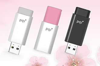 PQI スライド式2.0USBメモリ U176L 8GB