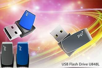 PQI 回転式2.0USBメモリ U848L 8GB
