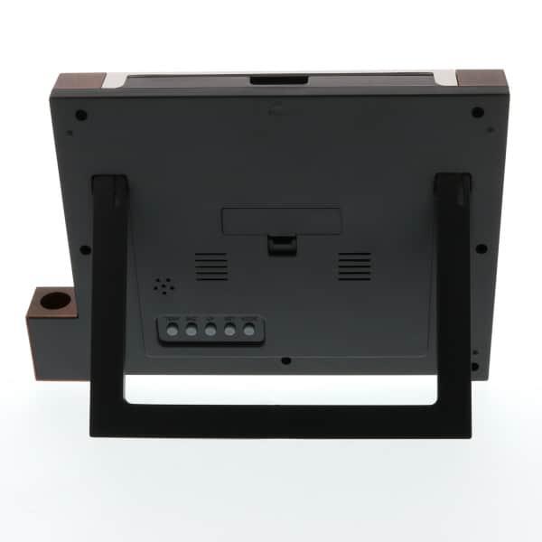 一台4役の多機能電波時計付きフォトフレーム クアトロ