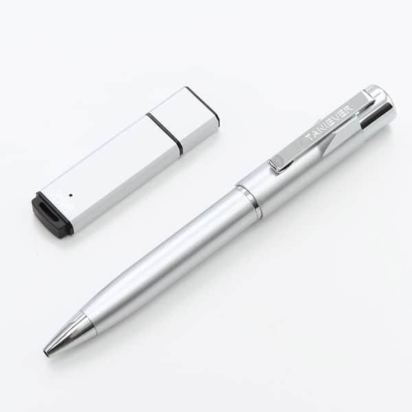 新社会人向け USBメモリ4GB・印付きペンスタンペンGセット