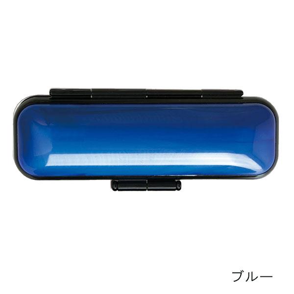 認印・訂正印セット 芯持黒水牛12mm・黒アセチ6mm ロイヤルWケース