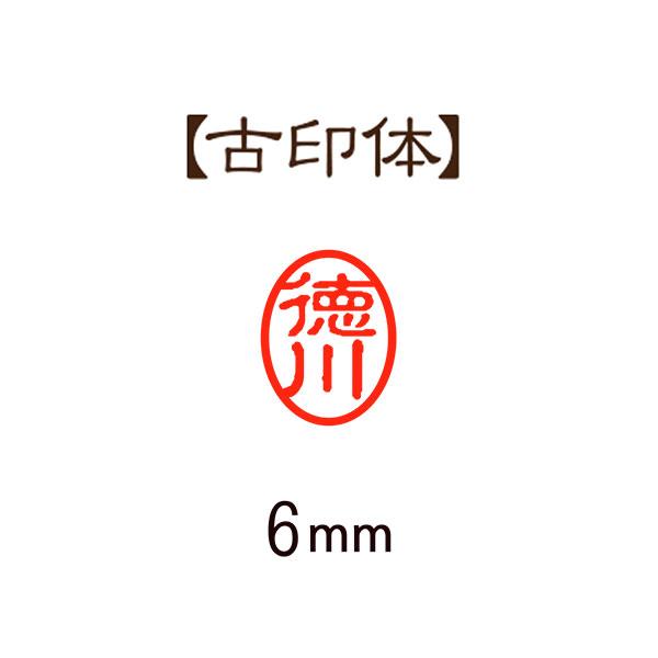 印鑑 認印・訂正印セット 黒ラクト12mm・黒アセチ6mm ハイケンローWケース