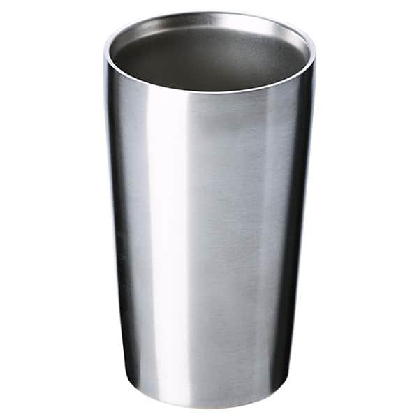 いつまでも快適温度で美味しく飲もう。真空2重構造ステンレスタンブラー 420ml