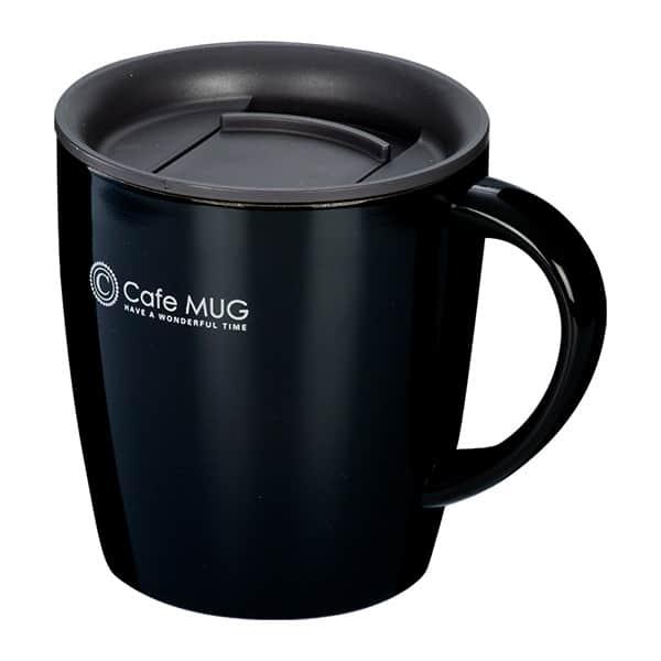 陶器調真空断熱マグカップ 330ml