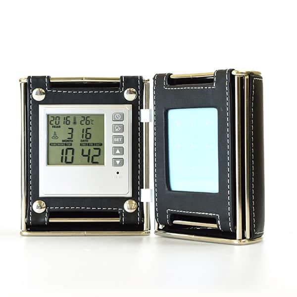【在庫限り22台限定】卓上時計付ペンスタンド