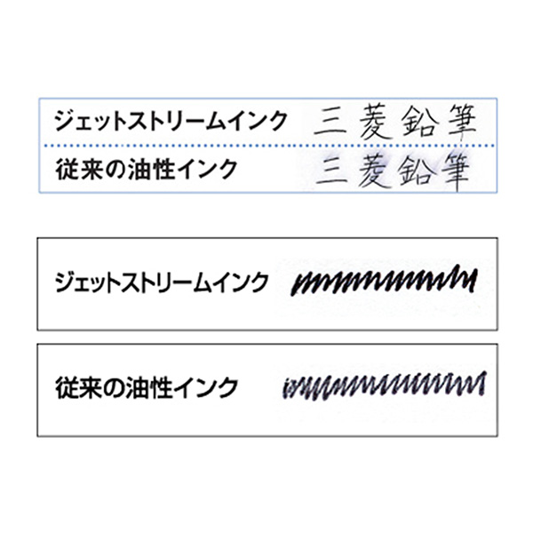 三菱鉛筆 ジェットストリーム ノック式多機能ペン 2&1 0.7mm