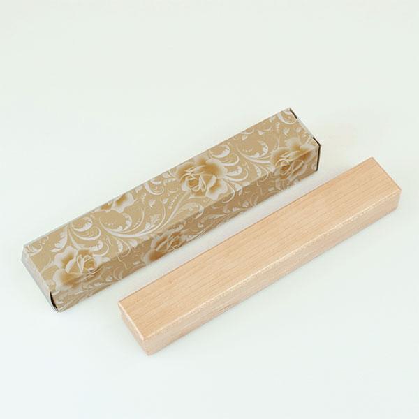 木製太軸ボールペン ペンケース付 ナチュラル色