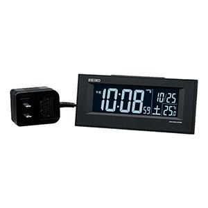 セイコークロック 目覚まし時計 交流式電源機能付き DL209
