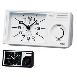 セイコークロック社製 ライデン 大音量ベル音目覚まし時計 NR443