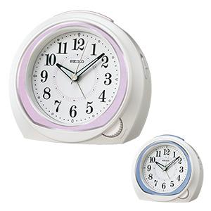 セイコークロック アナログ目覚まし時計 前面ダイヤル式 KR890