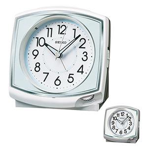 セイコークロック アナログ目覚まし時計 前面ダイヤル式 KR891