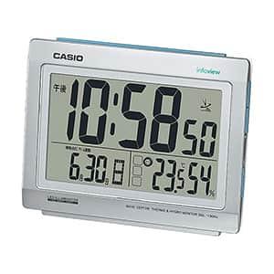 カシオ 大型液晶 卓上デジタル電波時計 DQL-130NJ-8JF