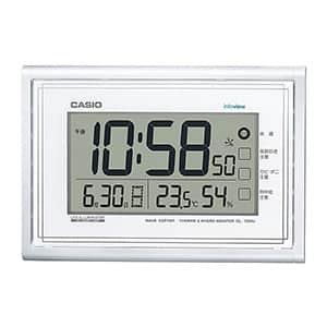 カシオ 大画面液晶 デジタル 掛け電波時計 IDL-150NJ-7JF