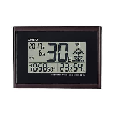 いぶし銀なデザイン。違いがわかるあの人へ。カシオ 日めくりカレンダー 掛け置き兼用 電波時計 IDC-120J-5JF