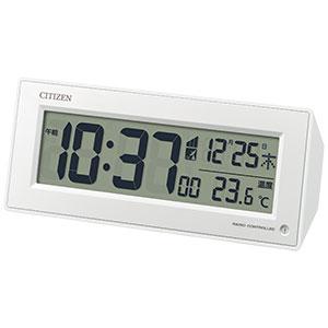 シチズン デジタル電波時計 8RZ153 自動点灯ライト付 卓上