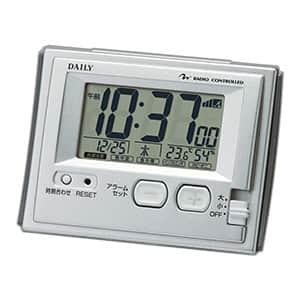 リズム時計 デイリー ジャストウェーブR126DN 卓上電波時計