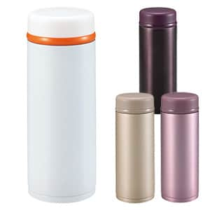 パール金属 内面フッ素樹脂加工真空ボトル 350ml 4色展開