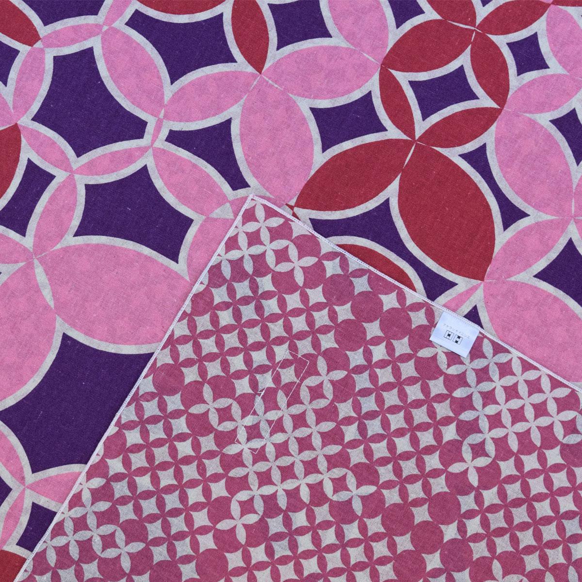 ふろしき 三巾 アタラシキイニシエ shippou ブラウン ワインレッド