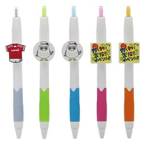 三菱鉛筆 ジェットストリーム 0.7mm アドクリップ付き 5色展開
