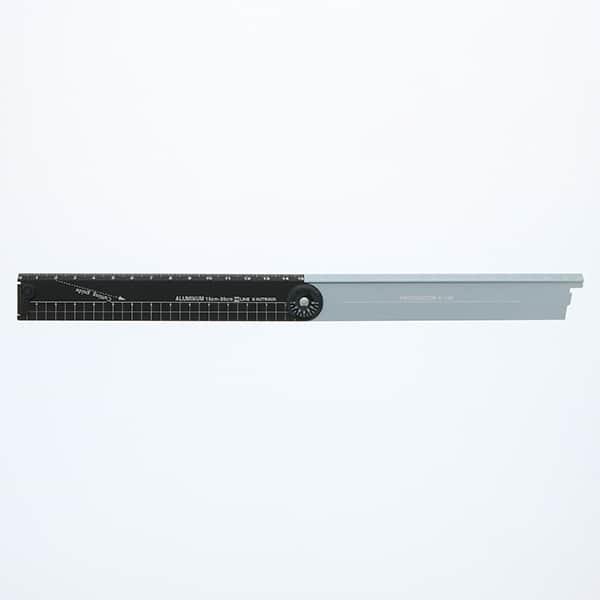 アルミ定規 折りたたみ式 30cm 3色展開