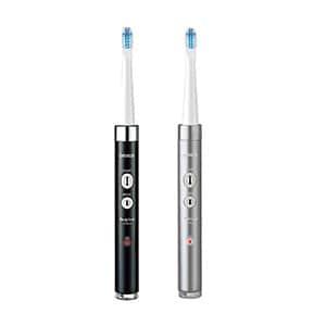 オムロン 音波式電動歯ブラシ メディクリーン HT-B312 ブラック シルバー