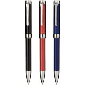 セーラー万年筆 バルカロール シルバー 油性ボールペン 0.7㎜ 3色展開 専用箱付