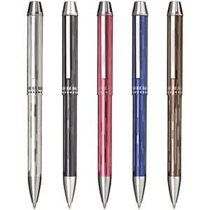 セーラー万年筆 メタリノ4 多機能ペン 0.7㎜3色油性ボールペン 0.5mm シャープペンシル 5色展開