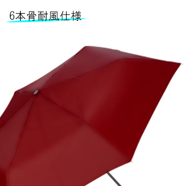 折りたたみ傘 55cm×6本骨耐風仕様