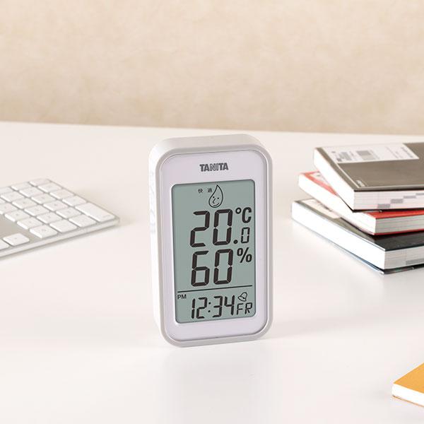 タニタ デジタル温湿度計 目覚ましアラーム付き TT-559