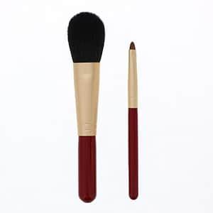熊野化粧筆セット 筆の心 チークブラシ シャドウライナーブラシ