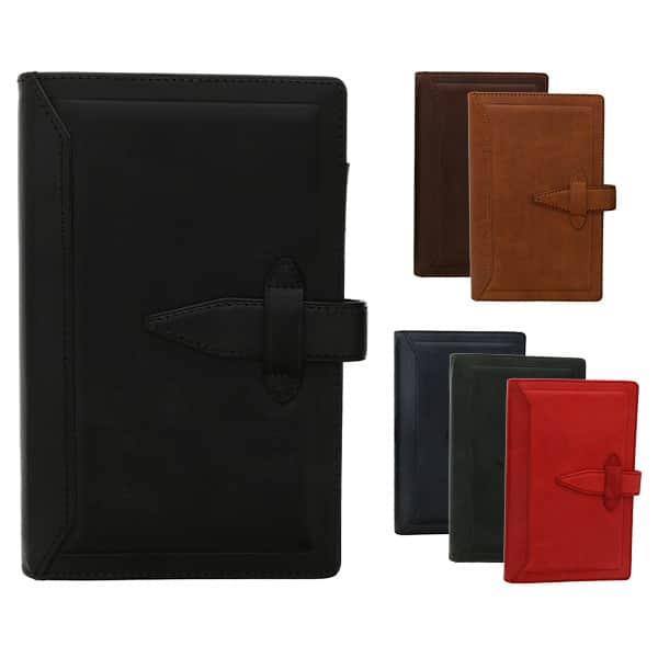 ダ・ヴィンチグランデ ヌメ革 牛革 聖書サイズ システム手帳 リング15mm