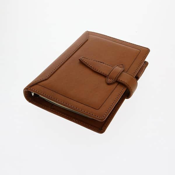 ダ・ヴィンチグランデ ヌメ革 牛革 ポケットサイズ システム手帳 リング14mm