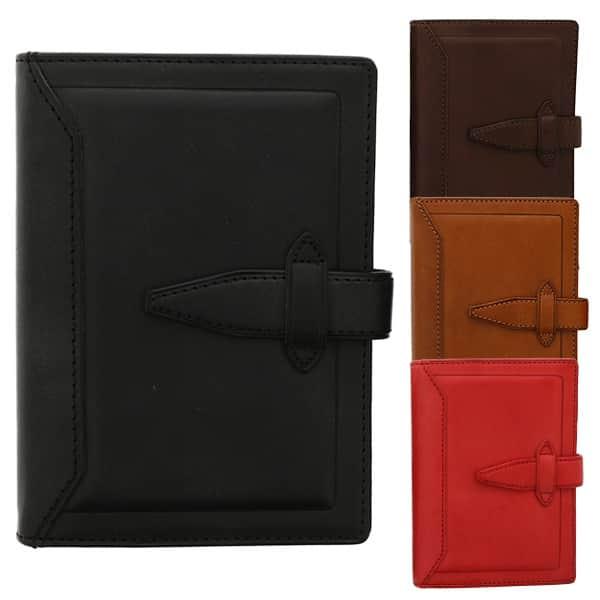 永く愛用して欲しいから。使い込むほど味が出る、ダ・ヴィンチグランデ ヌメ革 牛革 ポケットサイズ システム手帳