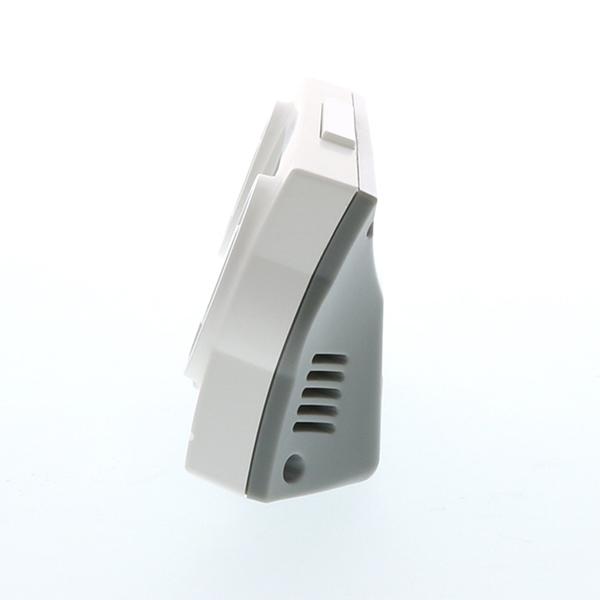 リズム デジタル時計 フィットバトラージューク 8RZ177SR 黒 白